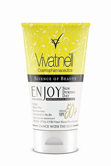 Vıvatınell enjoy VIVATINELL ENJOY SPF50+ Güneş Kremi 150 ml Renksiz
